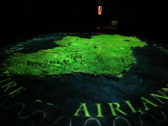 Interactive Map Of Ireland.Interactive Map Of Ireland Picture Of National Leprechaun Museum