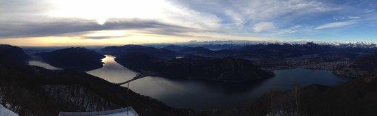 Belvedere della Sighignola: Panorama