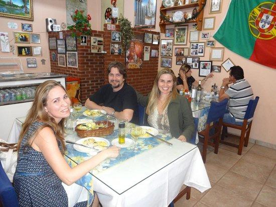 Casa Portuguesa Com Certeza: ambiente