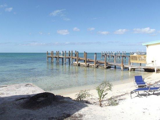 Edgewater Lodge : beach