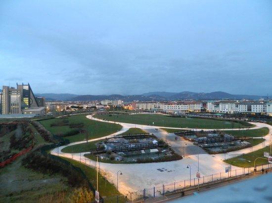 Starhotels Tuscany: Vista do paque da janela