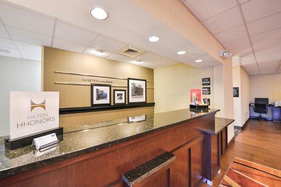 Hampton Inn Lehighton (Jim Thorpe Area): Reception