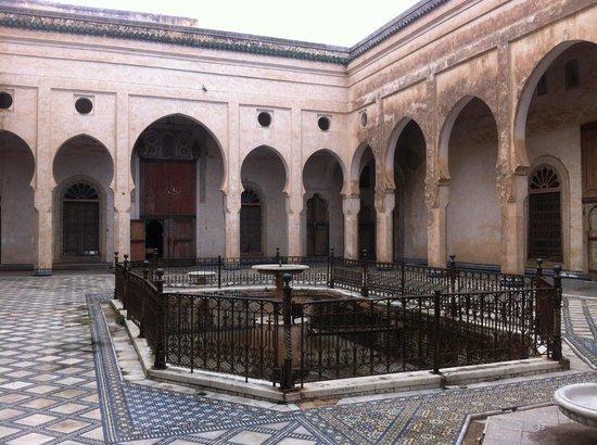 Glaoui Palace, Fez : Une des cours du palais