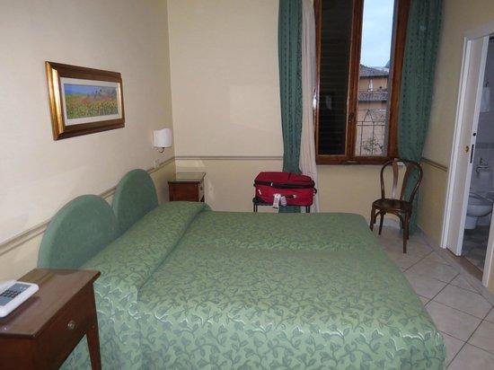 Hotel Chiusarelli: Letto