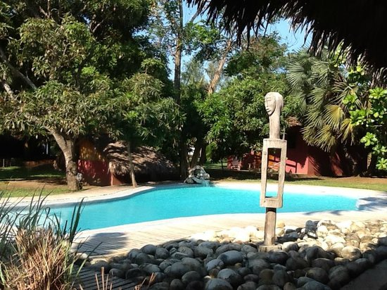 Nosy Lodge: La piscine