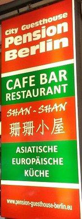 Bar & Restaurant Shan Shan: Echte chinesische Küche, Essen wie bei Oma.