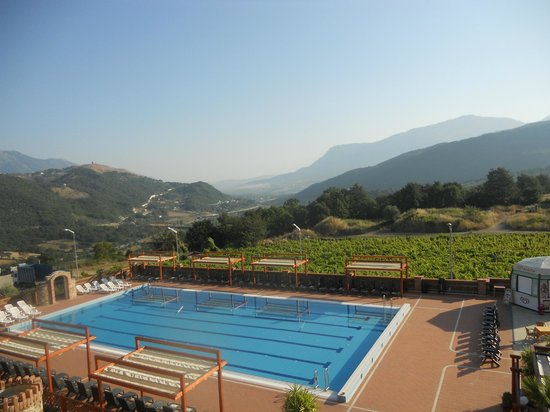 Villa Paolina: the view from our terrace