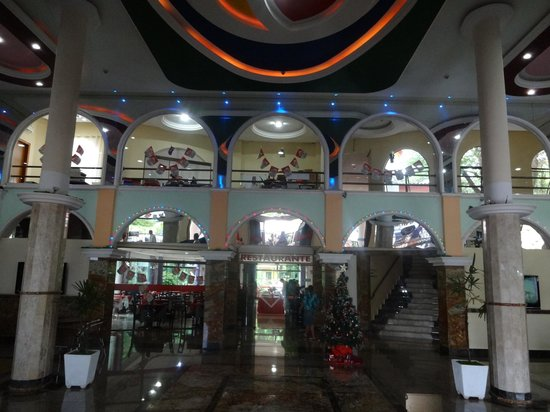 Iguassu Holiday Hotel: recepção