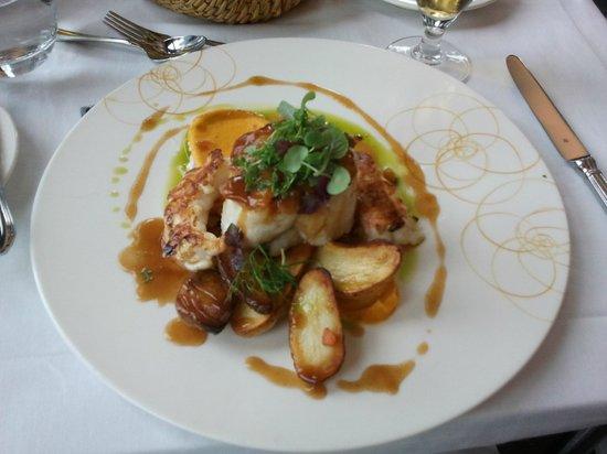 Lava Restaurant : Fish lunch