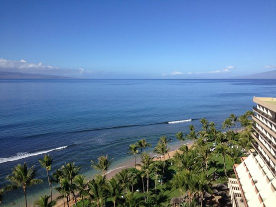Marriott's Maui Ocean Club  - Lahaina & Napili Towers : View from Lahaina Tower, 12th floor