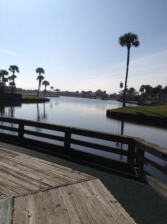 Ponte Vedra Inn & Club: lagoon at Golf Club