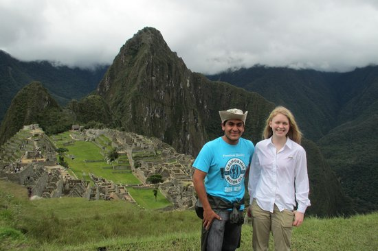 Cultural Immersion Day Tours: Our guide and my daughter