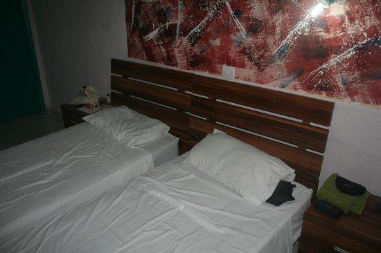 Hacienda Guest House: Twin room
