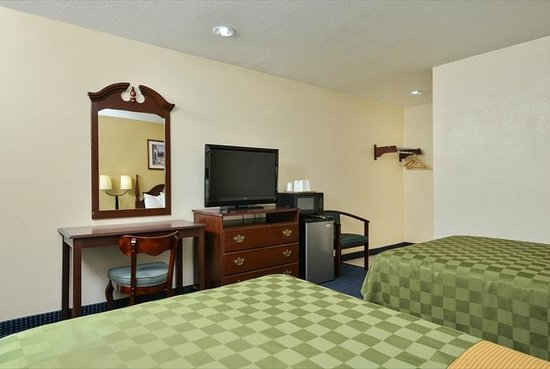 Super Star Inn & Suites El Centro : Double Queen