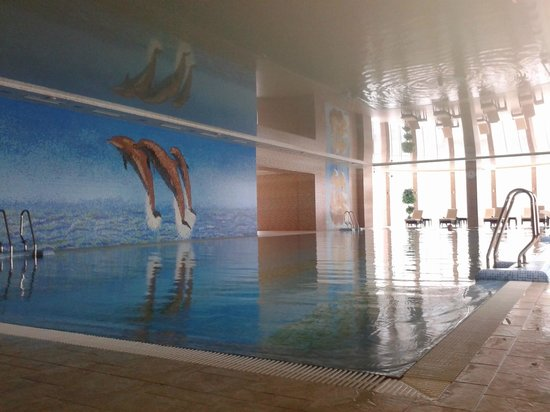 Grand Marine: The indoor pool.  There is also an outdoor pool and sauna.