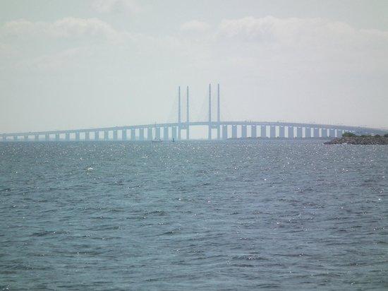 Puente de Oresund: Oresund Bridge taken from Copenhagen