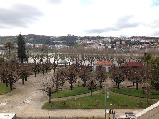 Vista para o Rio Mondego a partir do quarto do Ibis Coimbra!