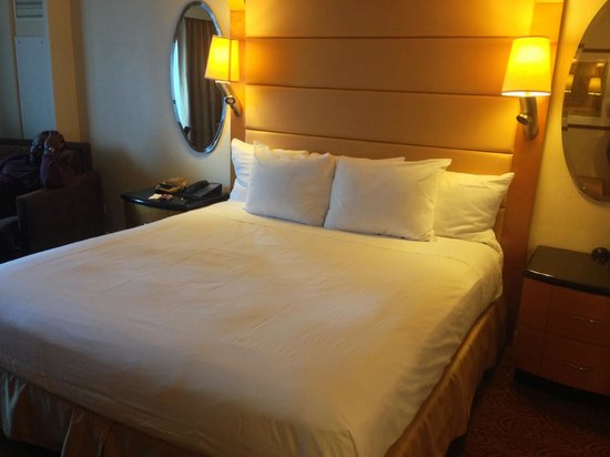 New York Hilton Midtown: Large spacious King room. Very comfy bed.