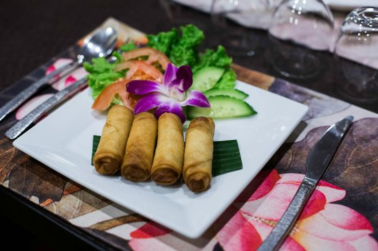 Koh Samet : Nem aux légumes