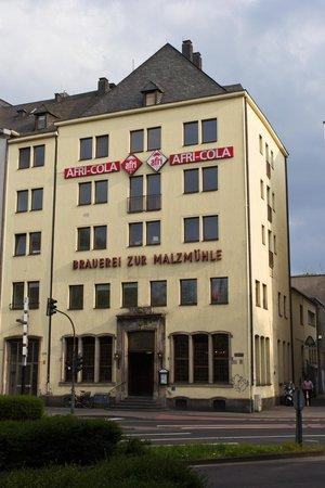 Brauerei zur Malzmühle: Здание.
