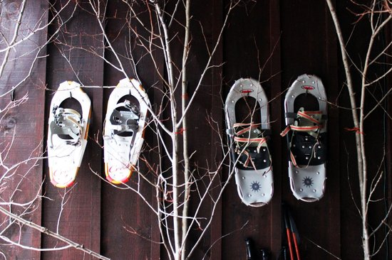 Grail Springs Retreat: Snowshoeing!