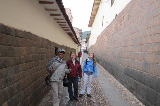Private Tours Peru : David in Cusco