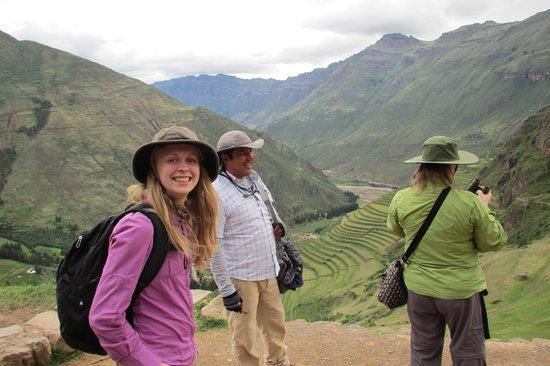Private Tours Peru : David at Pisac