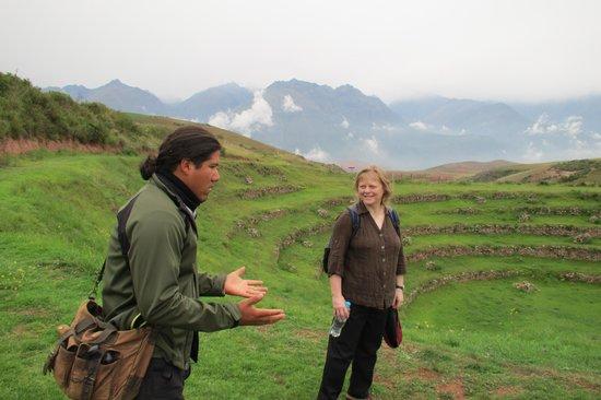 Private Tours Peru : Rojo at Moray