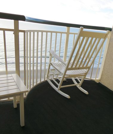 Hampton Inn & Suites Myrtle Beach/Oceanfront: My favourite spot