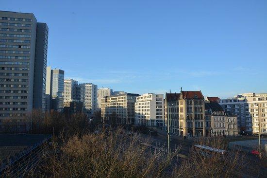 Novotel Berlin Mitte : Vue depuis notre chambre (423)