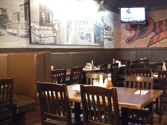 Dunn's Famous Deli : Dunn's Back Area Dining Room