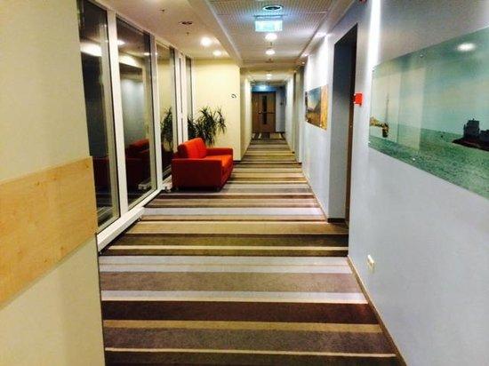 Radisson Blu Latvija Conference & Spa Hotel: Corridor floor