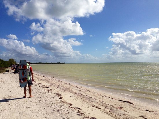 Villas Flamingos: Mosquitobay- kitespot.