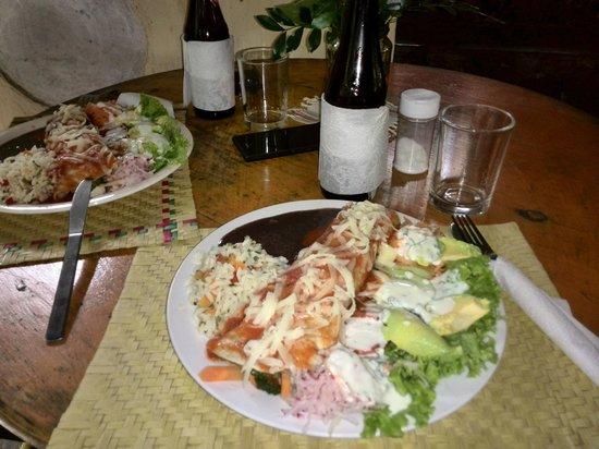 Restaurant Fe: Burrito time