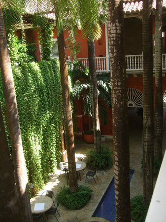 Casa Pestagua Hotel Boutique, Spa : view from first floor