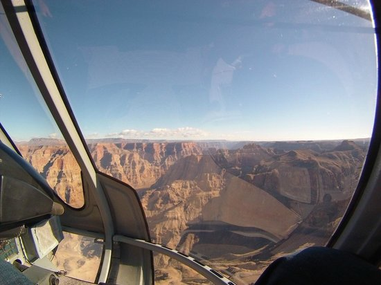 Papillon Grand Canyon Helicopters: Flying to the Skybridge at the Grand Canyon