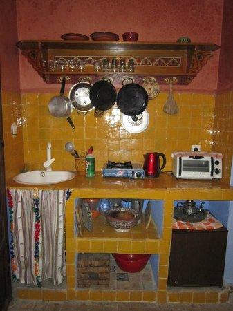 Apartments Dar el Moualim: cocina