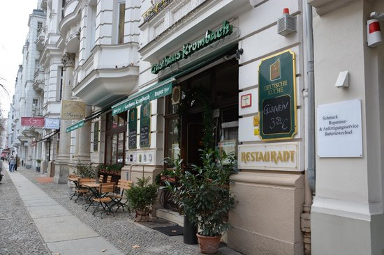Gasthaus Krombach : Vue extérieure