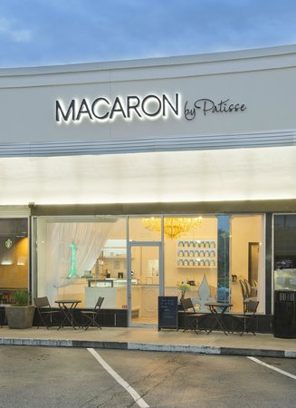Macaron by Patisse: Our beautiful Storefront