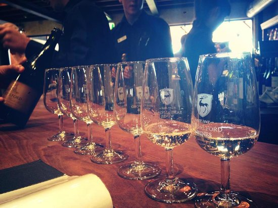 Sandalford Winery - Swan Valley: Wine tasting at the cellar door