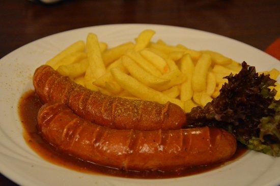 Gasthaus Krombach: Plat de notre fils