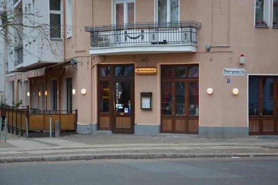 Restaurant Schnitzelei: Vue extérieure