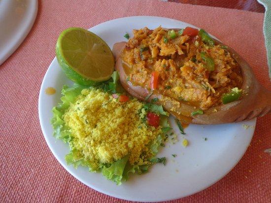 Jamaica Beach - Restaurante & Bar de Praia: Casquinha de siri