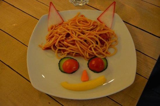 Restaurant Schnitzelei: Plat enfant