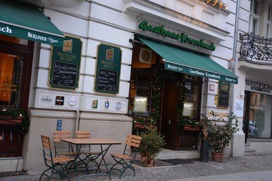 Gasthaus Krombach: Vue extérieure