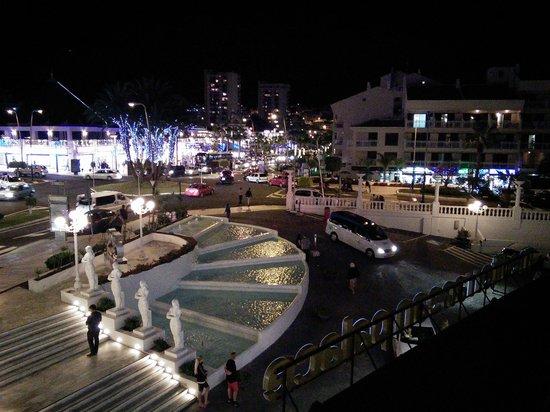 Mediterranean Palace Hotel: night view