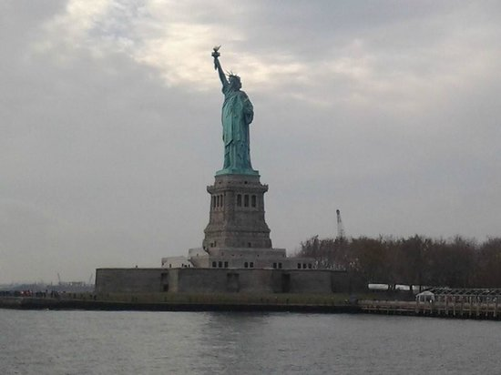 Liberty State Park: Estatua da Liberdade