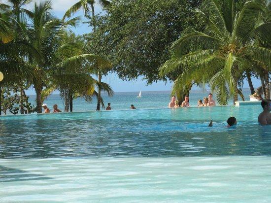 Dreams La Romana Resort & Spa: Schöner Blick vom Pool aus