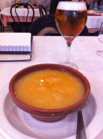 Arroceria Restaurante Avergar: Caldo cocido madrileño