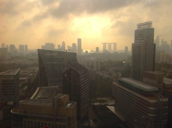 Orchard Hotel Singapore : view from room 3343